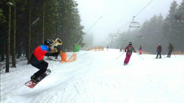 een dagje wintersport in winterberg