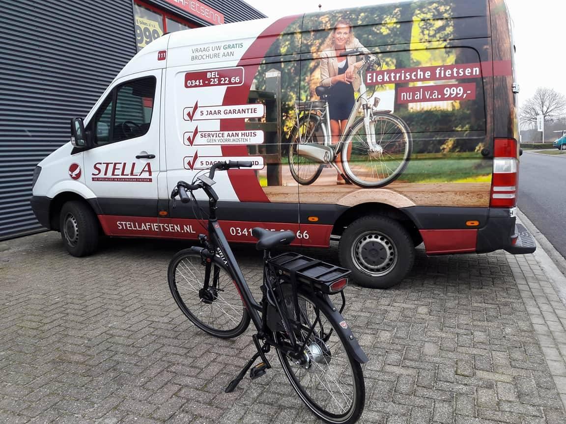 Met een Stella e-bike heb je altijd wind mee