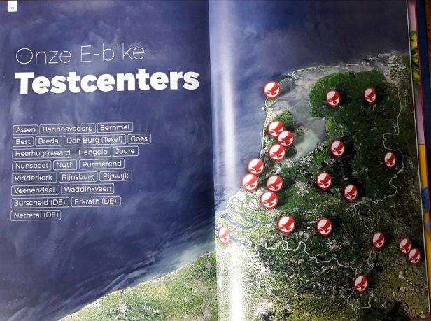 Je vind de testcenter van Stellafietsen op 12 plaatsen in Nederland
