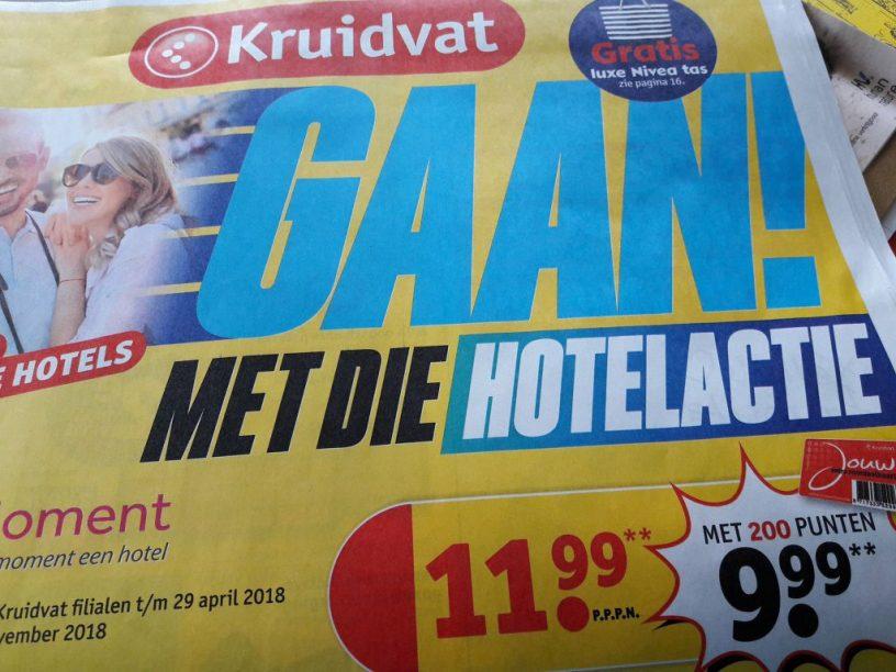 hotelovernachting Kruidvat