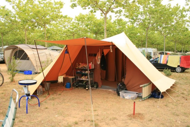kamperen in een De Waard tent is pas echt kamperen