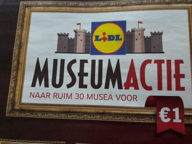Voordelig naar het museum Museumactie