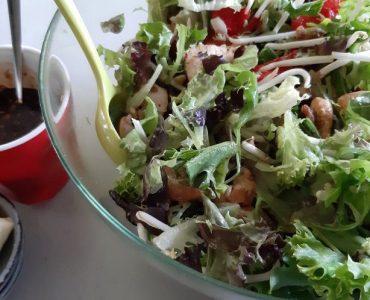 Cajun salade van la Place salade