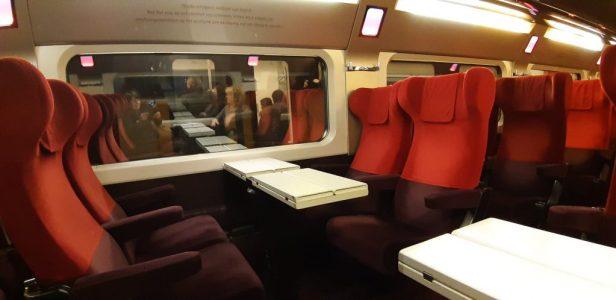 Met de trein naar Parijs