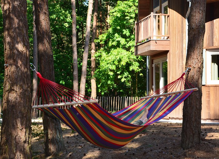 vakantiehuisje in eigen land