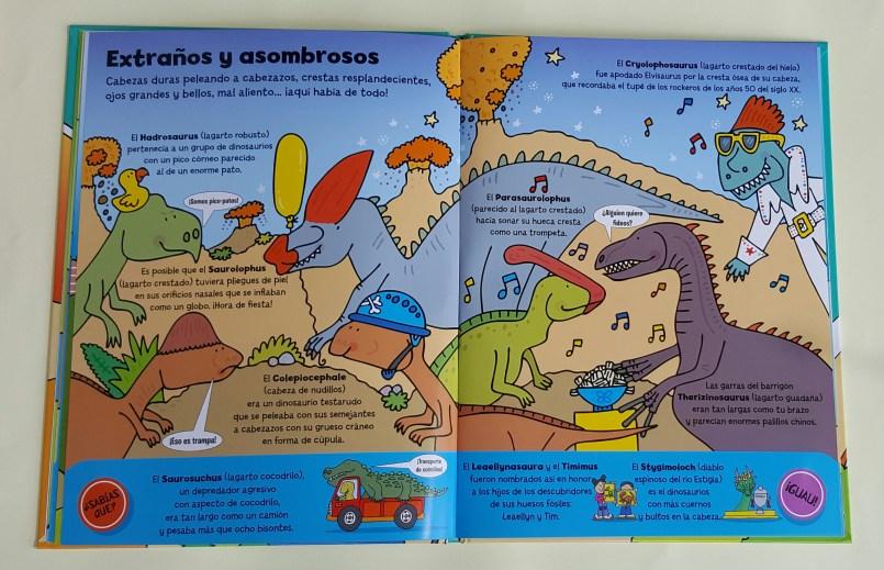 En tierra de dinosaurios Editorial SM