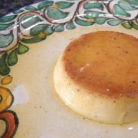Flan de Queso con Rompope