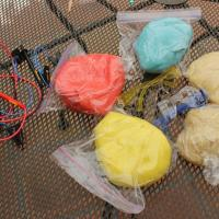 Conductive Play dough - Weekends with mad scientist dads