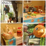 A Fishy First Birthday for Tiny A!