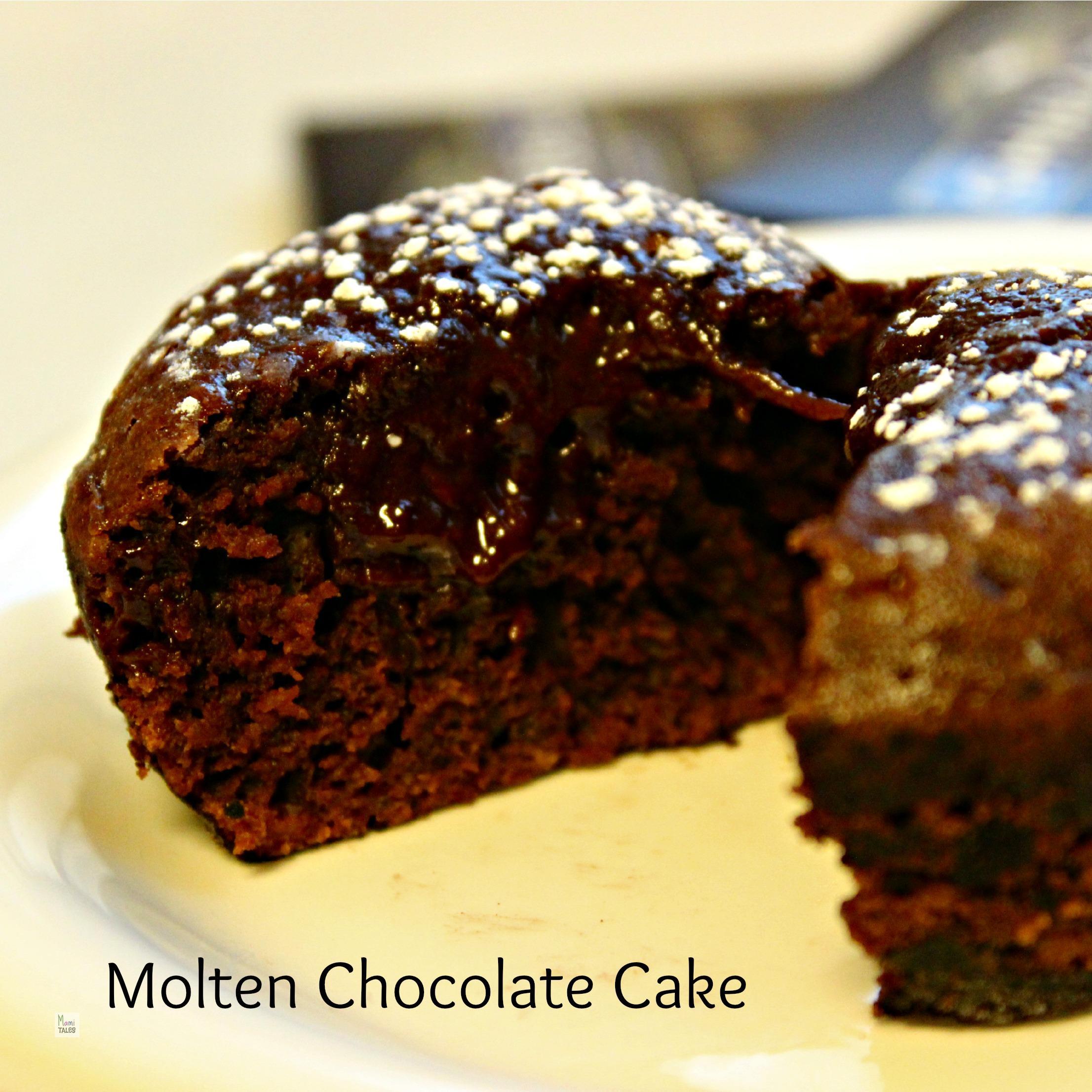 Belgian Chocolate Lava Cake Recipe