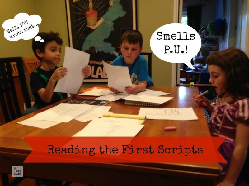 Kids Reading Scripts