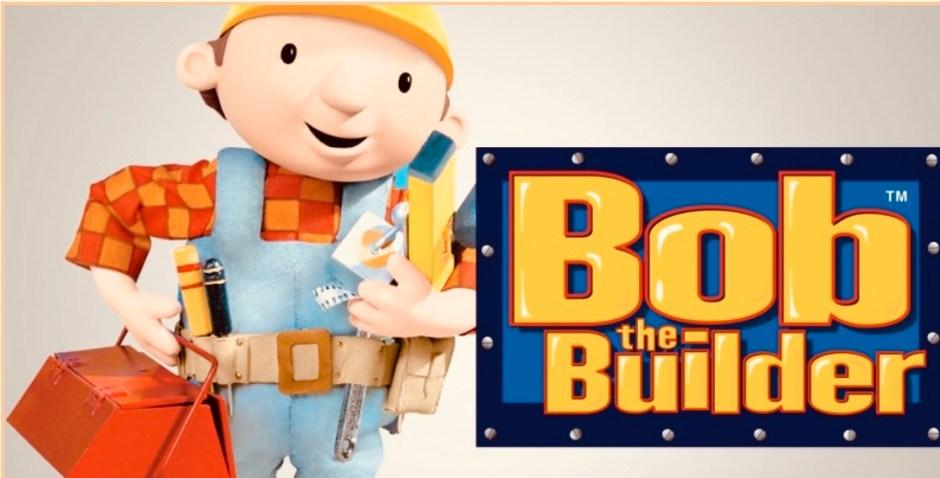 Titelbild der Serie Bob the Builder, mit Logo