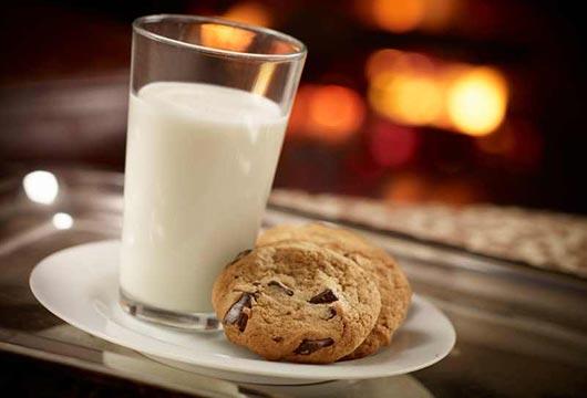 Resultado de imagen para comer galletas con leche
