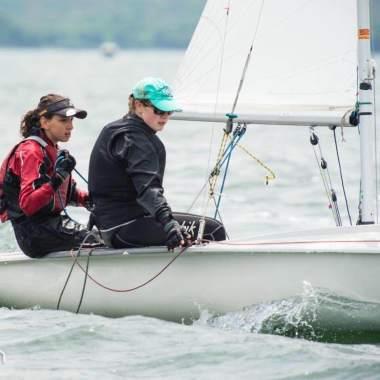 Featured athlete Emma Kineti (left)
