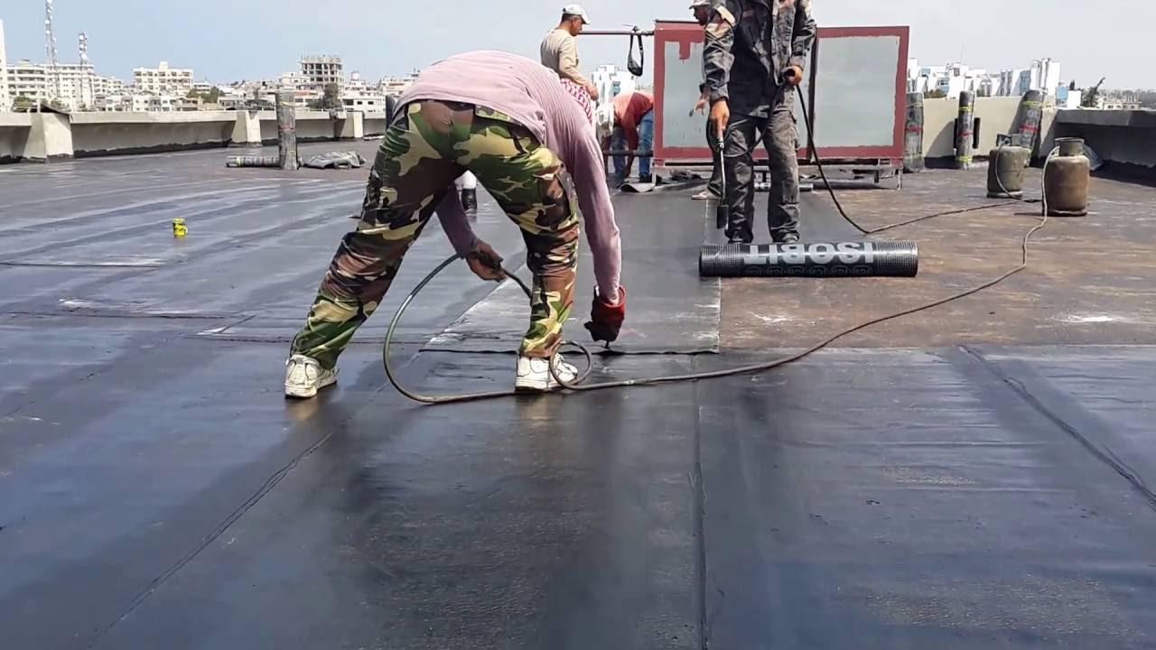 كيفية عزل الاسطح
