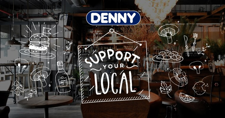 Add More Goodness By Supporting Your Local Restaurants With Denny Mushrooms