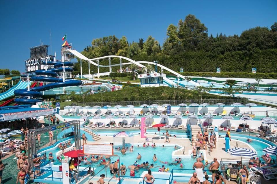 Acquapark Onda Blu Tortoreto pagina fb