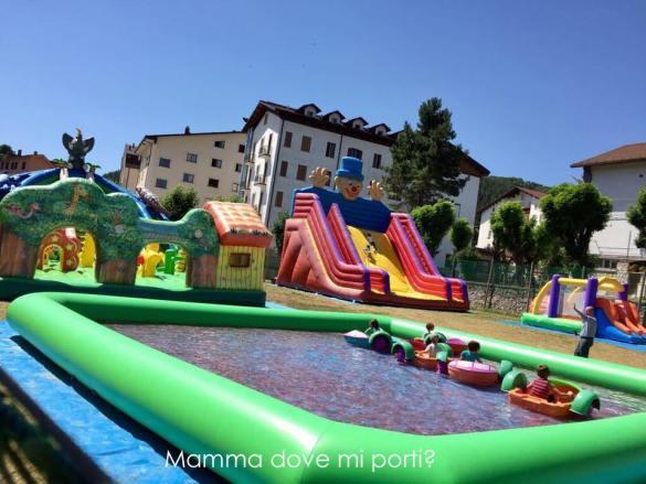 Area Gonfiabili Roccaraso - Montagna con bambini Abruzzo