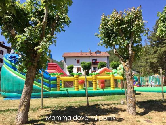 Area Gonfiabili Pratone Roccaraso - Montagna con bambini Abruzzo