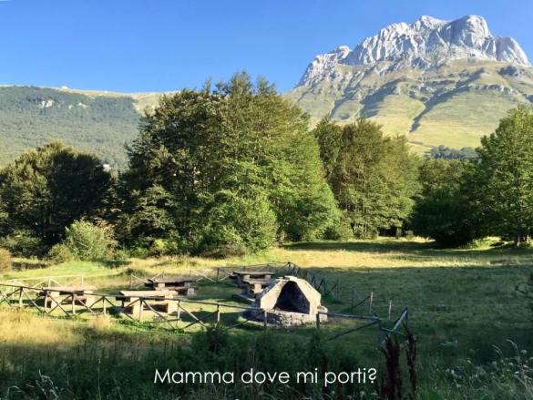 Area barbecue Prati di Tivo