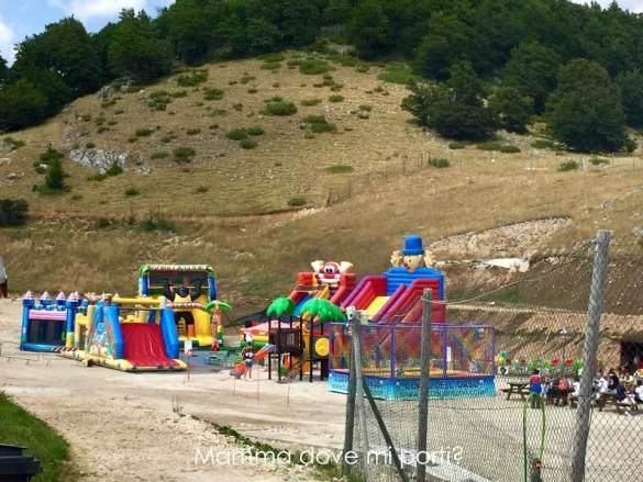 Gonfiabili Coppo dell'Orso Roccaraso - Montagna con bambini Abruzzo