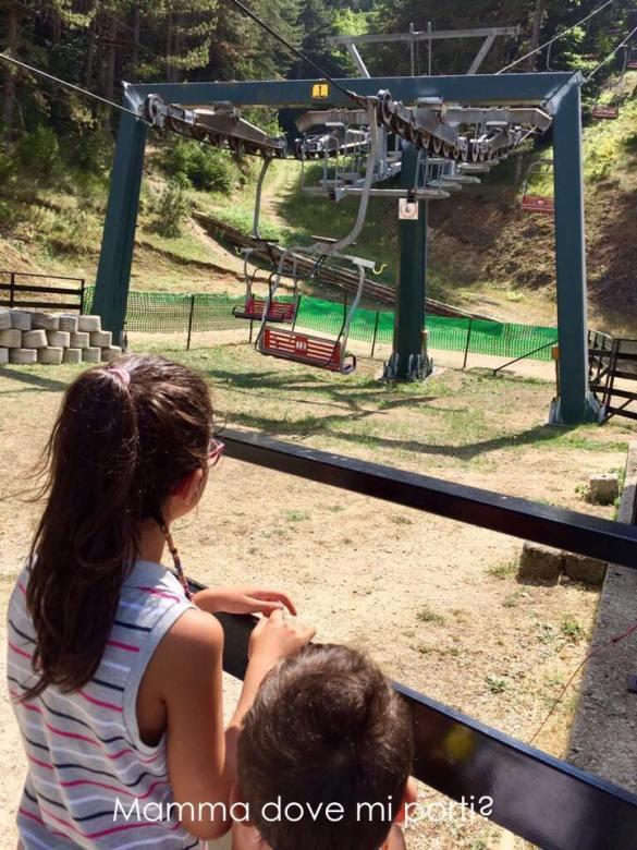 Seggiovia Roccaraso - Montagna con bambini Abruzzo