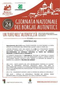 Giornata dei Borghi Autentici - Capistrello - L'Aquila