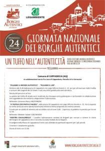Giornata dei Borghi Autentici - Cappadocia - L'Aquila - Eventi per famiglie in Abruzzo