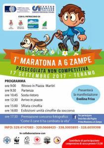 Programma Maratona a 6 zampe - Teramo - Eventi per famiglie in Abruzzo