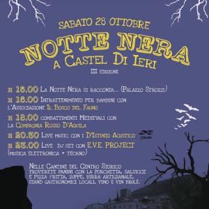Notte Nera-Halloween-Castel di Ieri-L'Aquila
