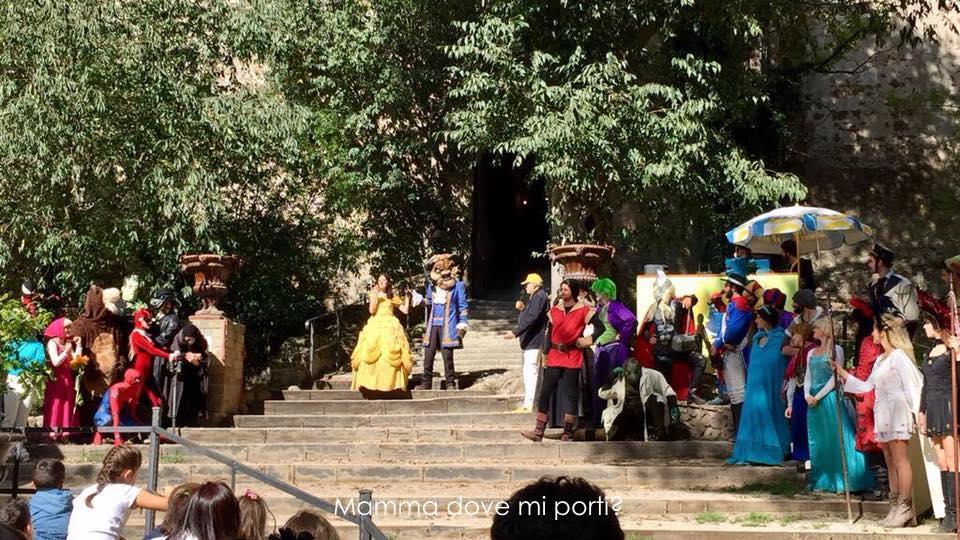 Parata dei Personaggi - Il Fantistico Mondo del Fantastico-Castello di Lunghezza-Roma