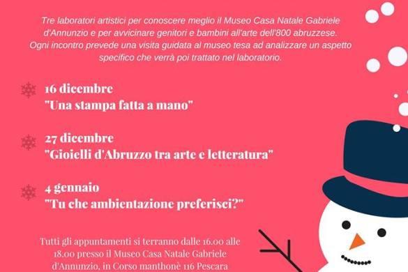 Natale-a-Casa-D-Annunzio-Laboratori-Museo-Casa-Natale-D-Annunzio-Pescara