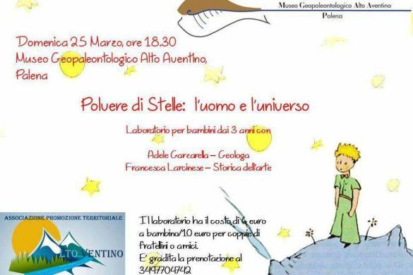 Polvere-di-Stelle-Laboratorio-Museo-Geopaleontologico-Alto-Aventino-Palena-CH