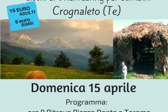 Escursione per famiglie e giochi di Orienteering per bambini - Crognaleto (Te)