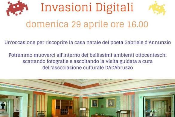 Invasioni-digitali-Museo-Casa-Natale-D-Annunzio-Pescara