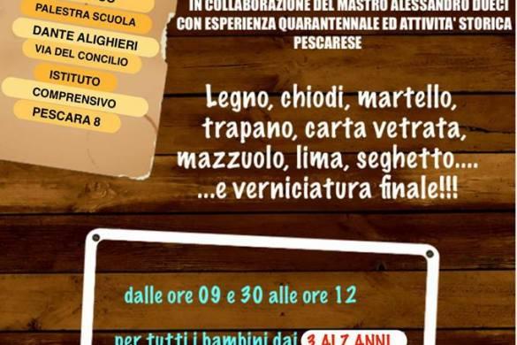 Laboratorio-Falegnameria-didattica-il-Sentiero-Pescara