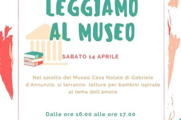 Leggiamo-al-Museo-Museo-Casa-Natale-D-Annunio-Pescara