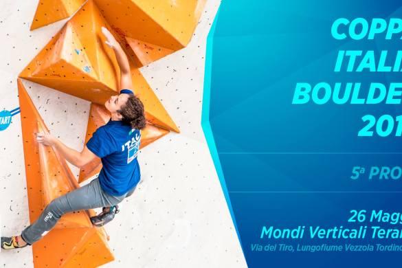 Coppa Italia Boulder - Mondi Verticali -TEramo