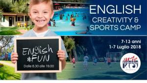 English Creativity & Sports Camp - Artekaleidos Lab - Montesilvano -PEscara
