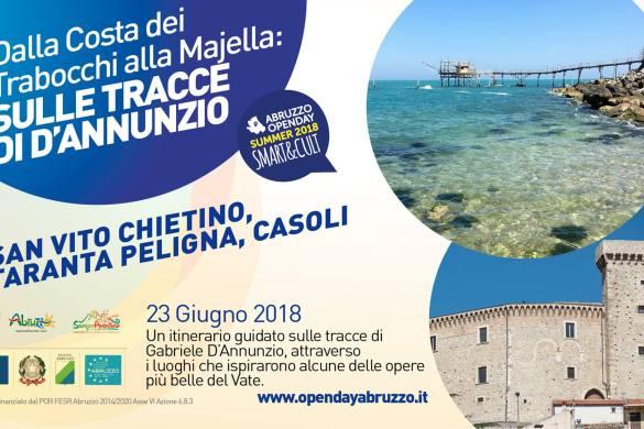 Dai Trabocchi alla Majella sulle tracce di D'Annunzio - San Vito Chietino - Chieti