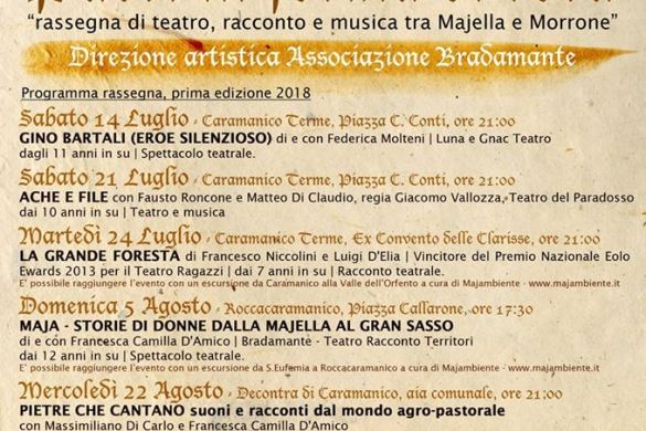 Paesi in forma di Rosa - Caramanico Terme - Pescara