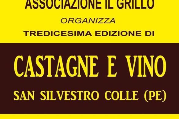 Castagne e vino - San Silvestro Colle PE- Feste d'autunno in Abruzzo