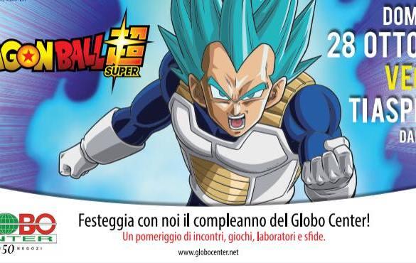 Dragon-Ball-al-Globo-Center-LAquila- Eventi per bambini L'Aquila