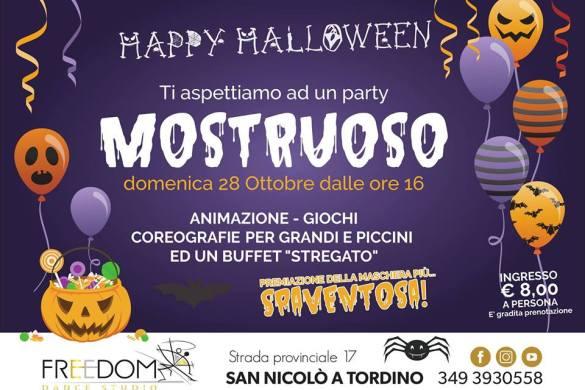 Festa-Halloween-Freedom-Dance-Studio-Teramo- Halloween 2018 per bambini in Abruzzo