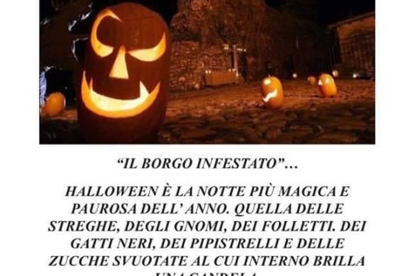 Il Borgo Infestato - Pianella PE - Halloween 2018 per bambini in Abruzzo