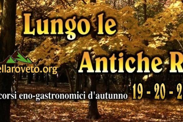 Lungo Le Antiche Rue 2018 Civitella Roveto AQ - Feste d'autunno Abruzzo