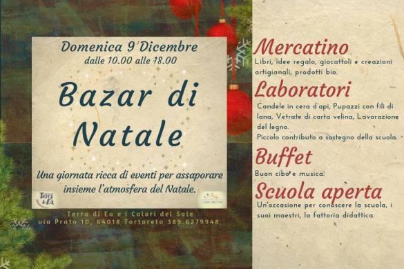 Bazar-di-Natale-I-Colori-del-Sole-Terra-di-Ea-Tortoreto-Teramo - Cosa fare a Natale con i bambini in Abruzzo