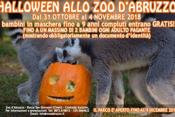 Halloween-allo-zoo-dAbruzzo-Rocca-San-Giovanni-CH- Eventi per bambini Chieti