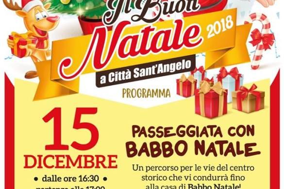 Il-Buon-Natale-Città-Sant'Angelo-Pescara - Cosa fare a Natale con i bambini in Abruzzo