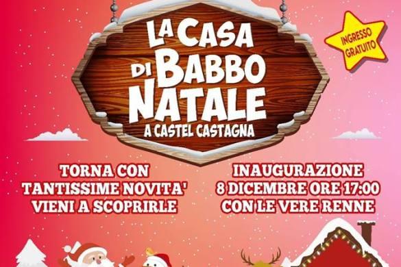 La-Casa-di-Babbo-Natale-Castel-Castagna-Teramo - Cosa fare a Natale con i bambini in Abruzzo